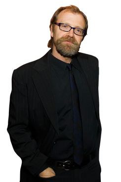 Syracuse University faculty member and author George Saunders on Thursday, Nov. 15, 2012, in New York.