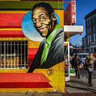 The Ben's Chili Bowl Bill Cosby Mural Was Finally Defaced