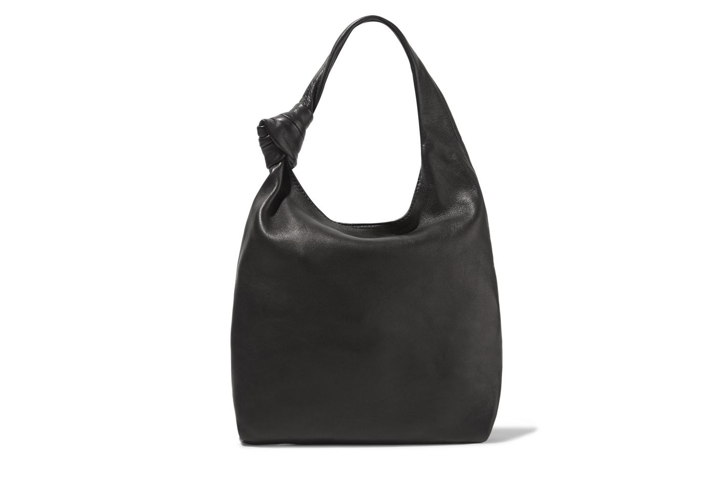 Loeffler Randall Knot Mini-Leather Tote