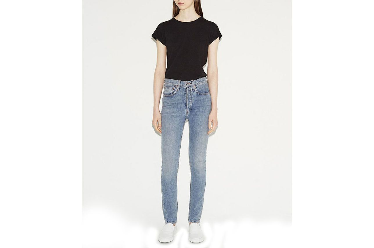 RE/DONE Light Wash Stretch Jean