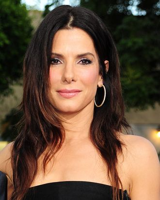 Sandra Bullock's new hairdo.