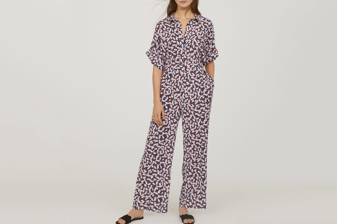 ANNA GLOVER X HM Patterned Jumpsuit