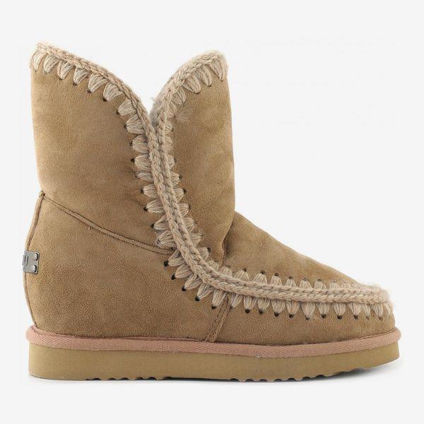 Mou Eskimo Inner Wedge Short Boots
