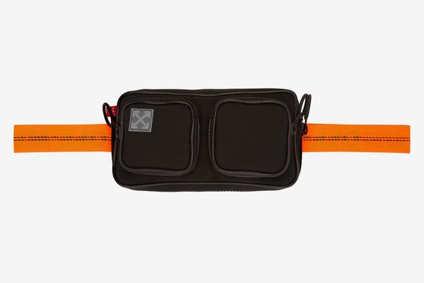 Off-White Black Tape Hip Belt Pouch