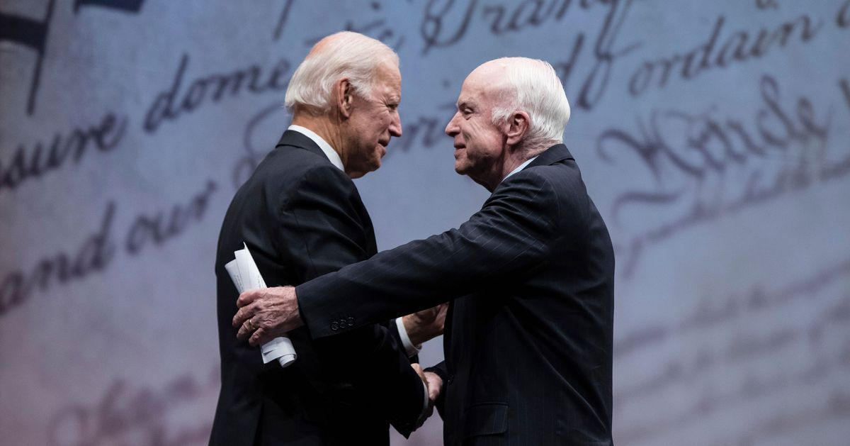 Report: John McCain's Family Will Back Biden for President