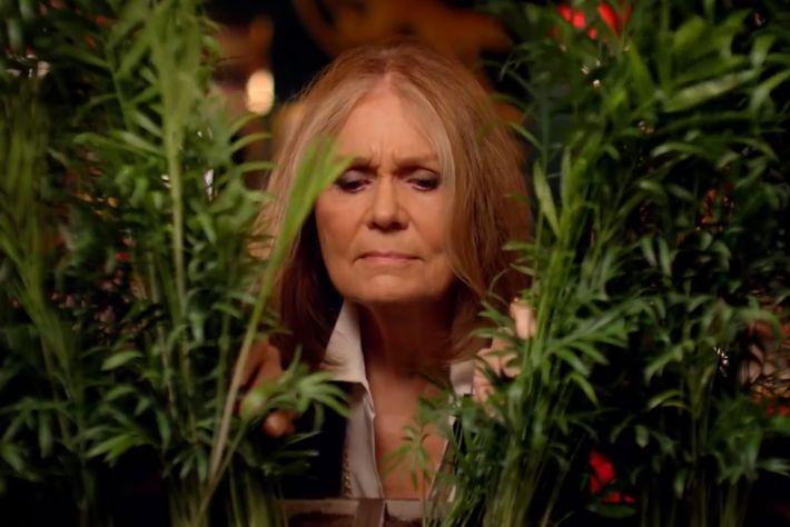 Kate Spade bit actor Gloria Steinem.