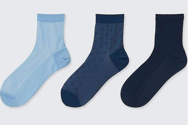 Women Sheer Crew Socks