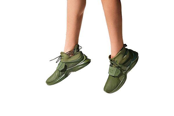 Puma Fenty by Rihanna Trainer Hi Leather Sneaker