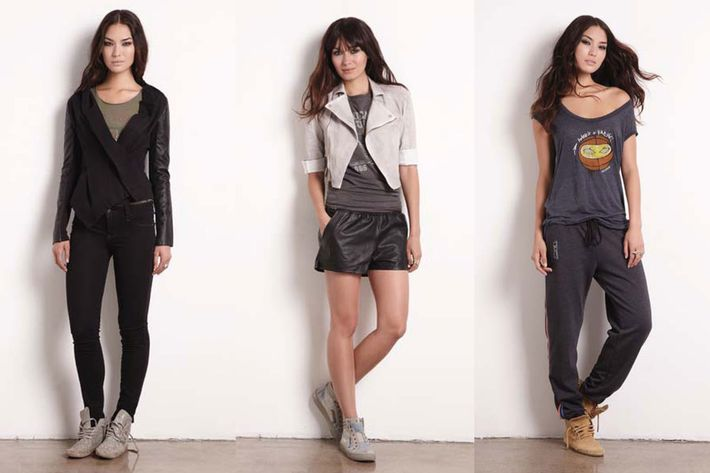 Looks from the Rachel + Amar'e Collaboration.