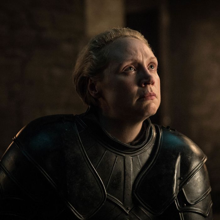 Brienne of Tarth on Game of Thrones.