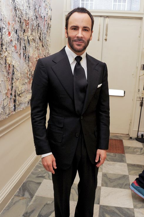 LONDON, ENGLAND - JUNE 30:  (EMBARGOED FOR PUBLICATION IN UK TABLOID NEWSPAPERS UNTIL 48 HOURS AFTER CREATE DATE AND TIME. MANDATORY CREDIT PHOTO BY DAVE M. BENETT/GETTY IMAGES REQUIRED)  Tom Ford attends an exclusive party hosted by Jay Jopling to celebrate the completion of 'Contra Mundum' or 'Against The World', a one of a kind diamond glove created by Daphne Guinness and Shaun Leane, on June 30, 2011 in London, England.  (Photo by Dave M. Benett/Getty Images)