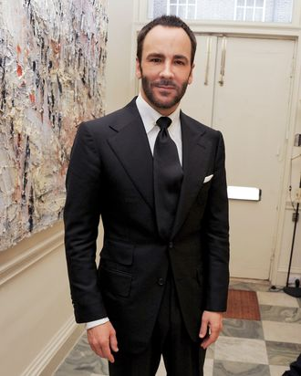 Tom Ford, member of the BFC's menswear committee.