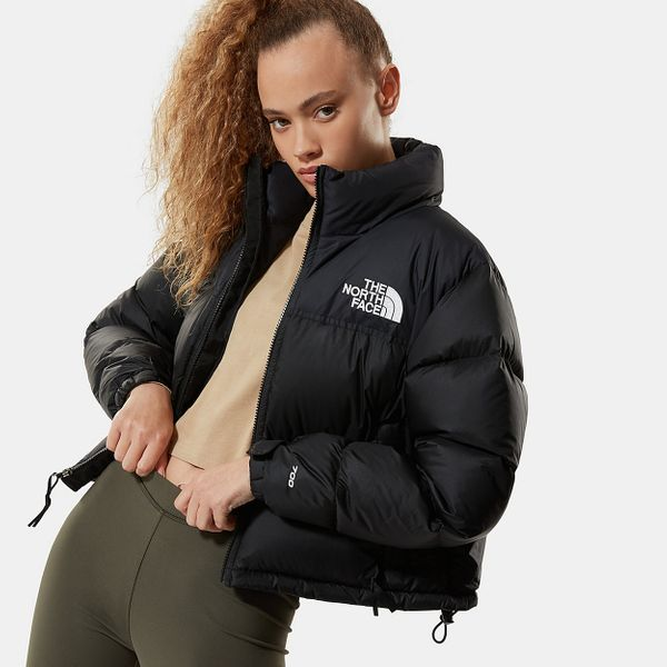 The North Face Women's Nuptse Cropped Jacket