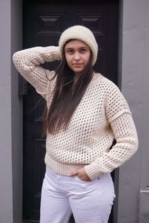 M. Patmos Elizabeth Crewneck Sweater
