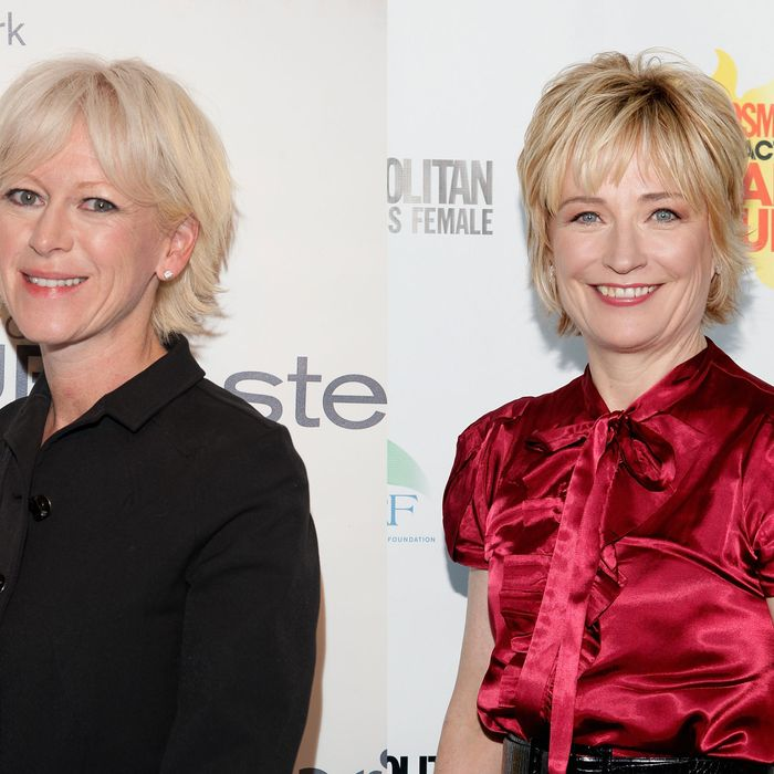 Joanna Coles (left); Kate White (right).