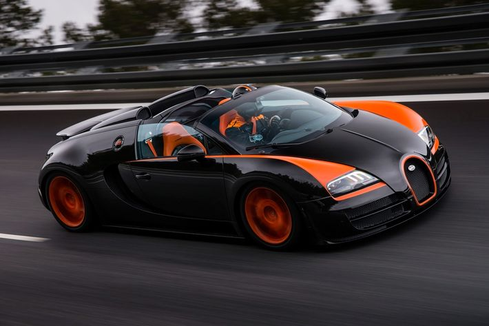 Once The Fastest Car In The World, With A Top Speed Of 255 Miles Per Hour,  The Bugatti Veyron 16.4 Grand Sport Vitesse Is Also Blisteringly ...
