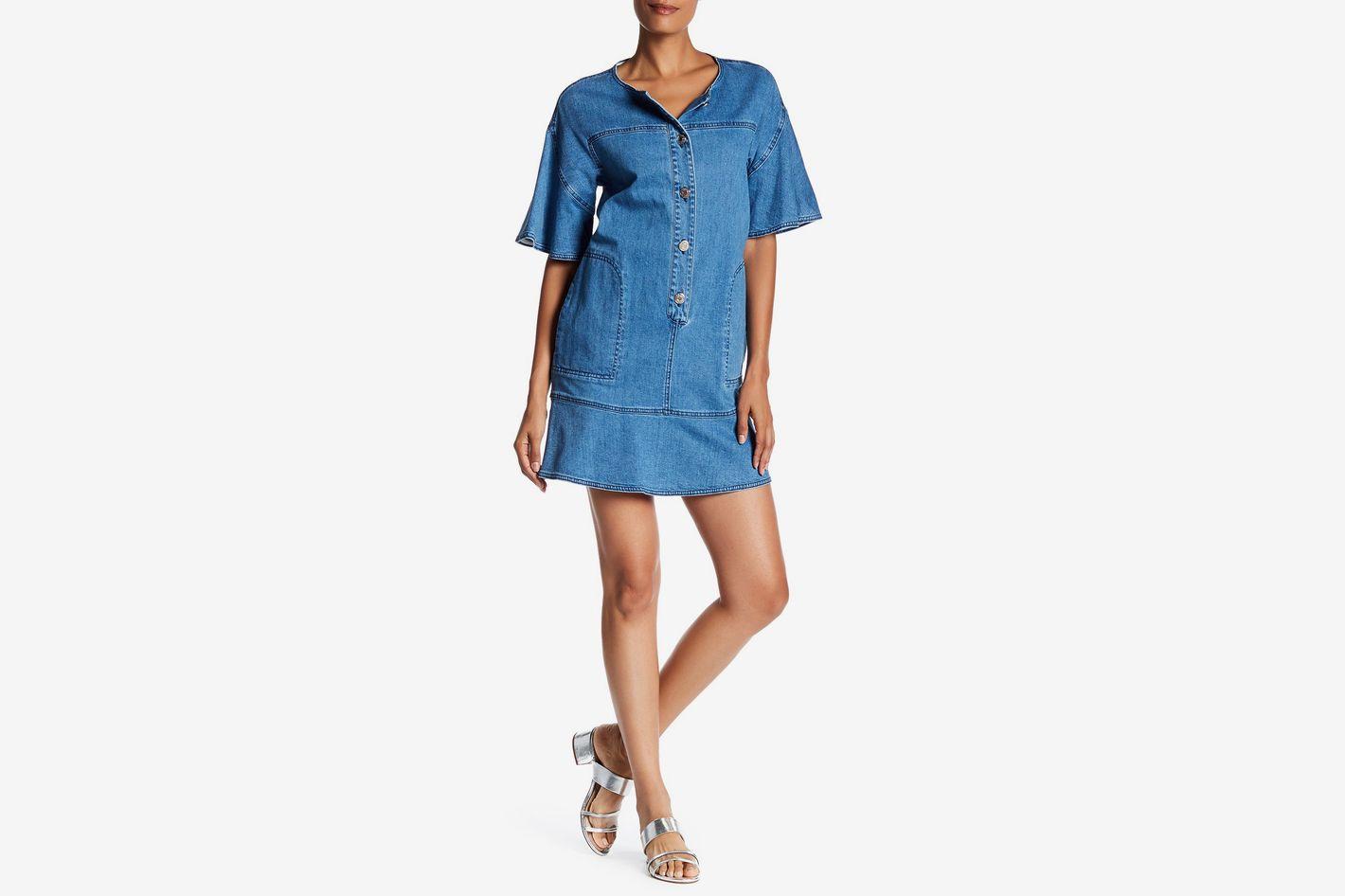 See by Chloé Denim Shirt Dress