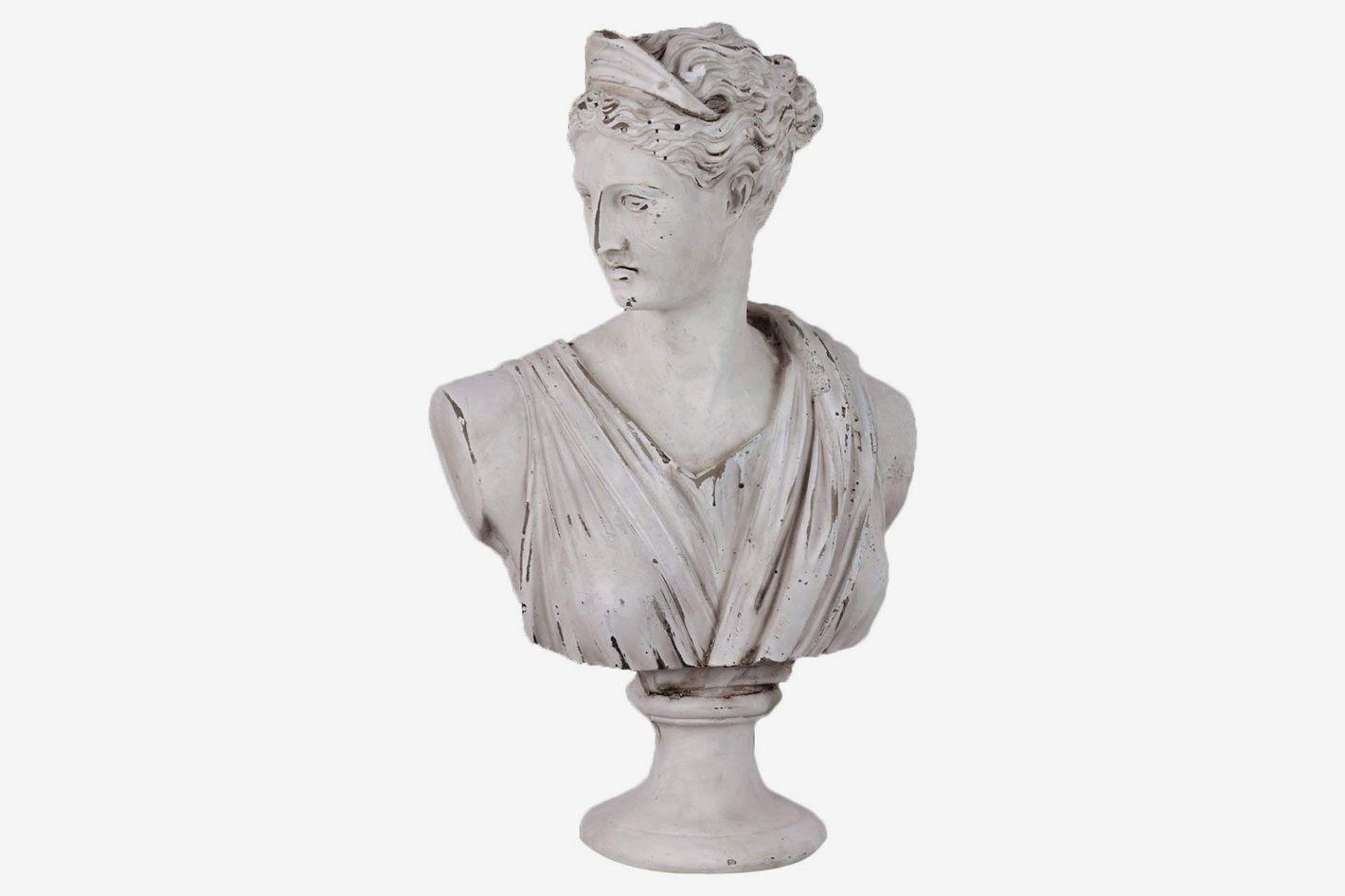 Plutus Brands Antique Cement Statue