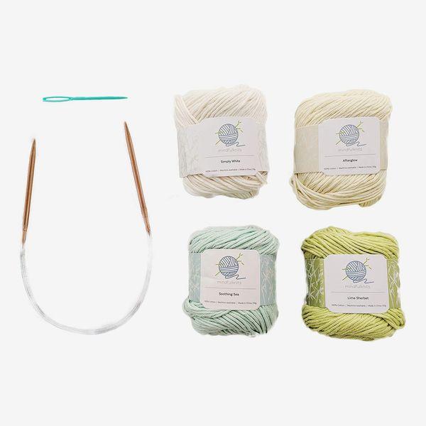 Mindfulknits Beginner's Knitting Kit