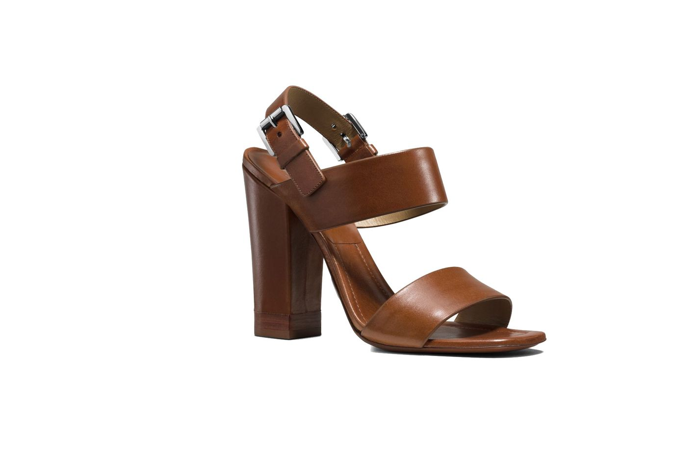 Michael Kors Collection Thelma Leather Sandal