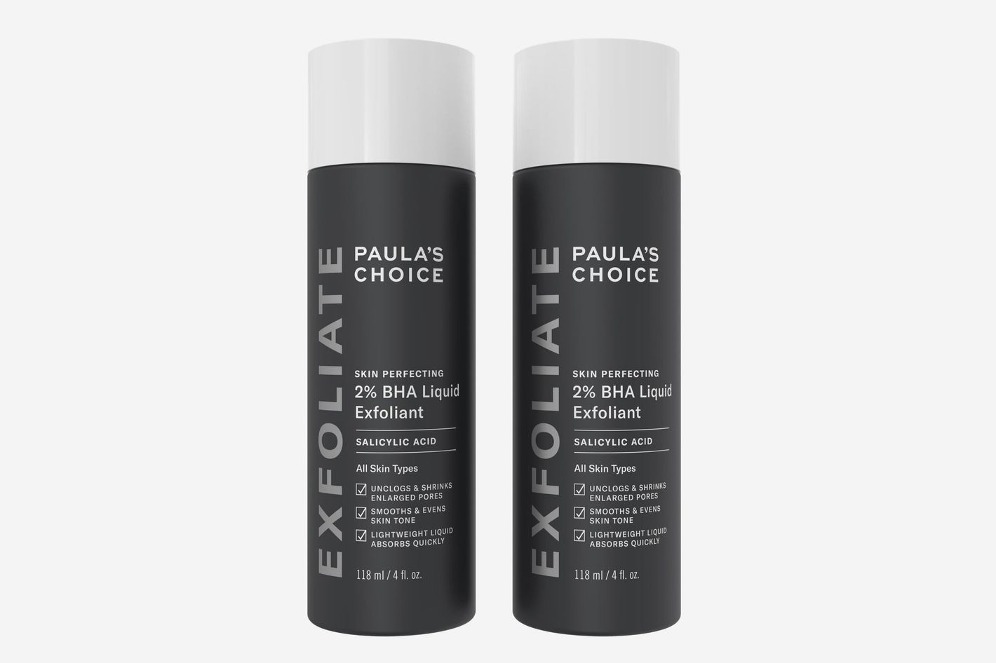 Paula's Choice Skin Perfecting 2% BHA Liquid Exfoliant Full Size Duo