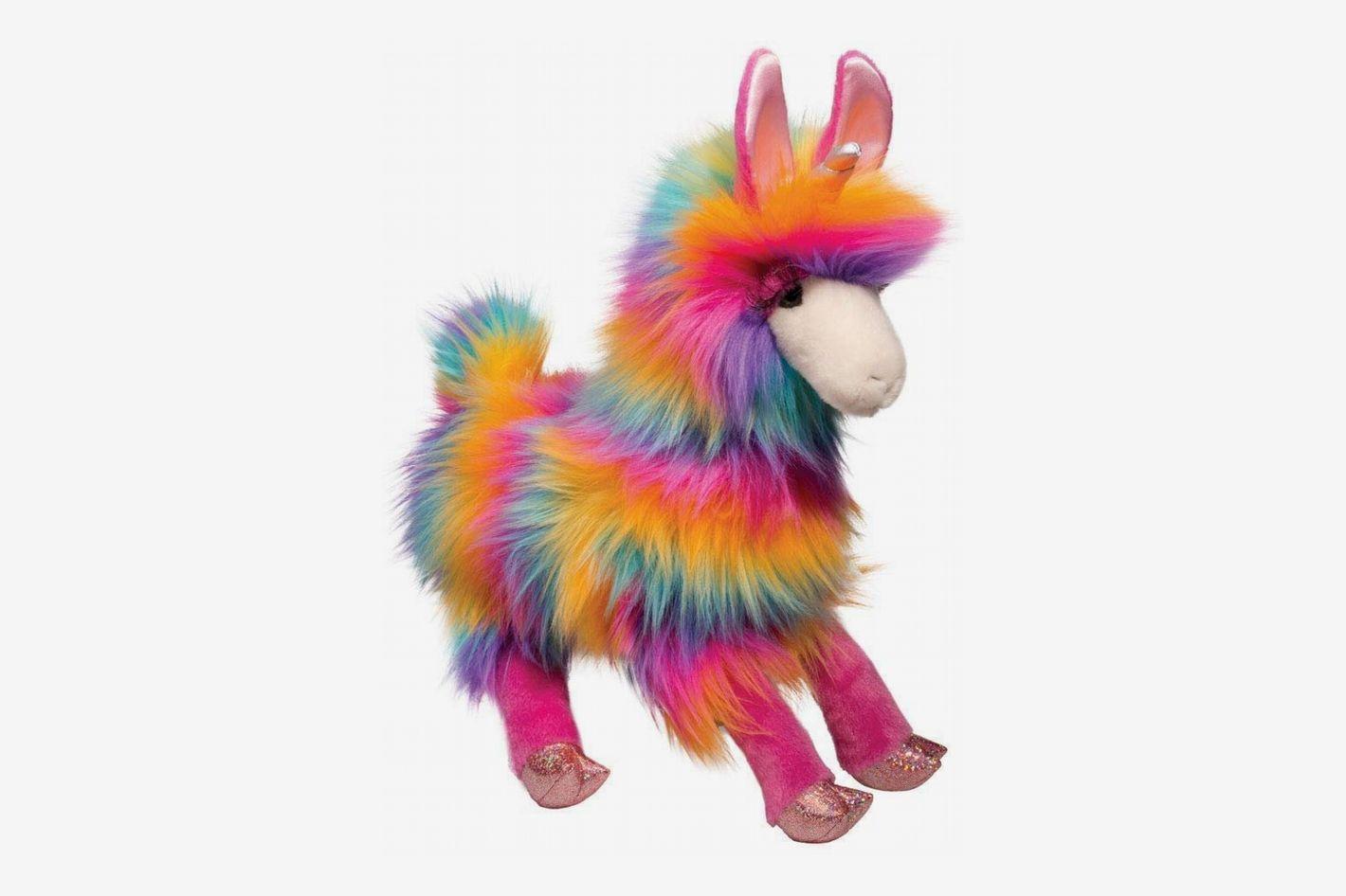 Douglas Toys Lollipop Llamacorn Rainbow Stuffed Animal Toy