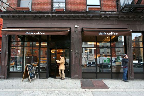 Think Coffee in the East Village