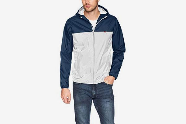 Levi's Men's Lightweight Hooded Rain Jacket