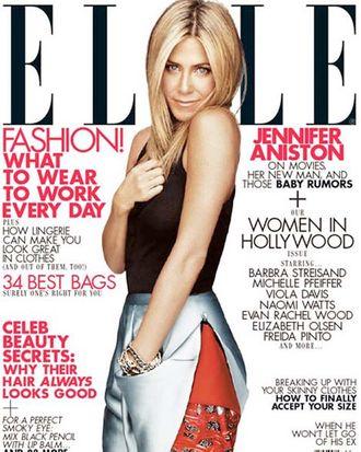 Jennifer Aniston for Elle.