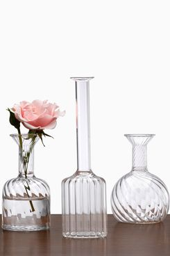 Jamali Ball, Round, & Bottle Glass Bud Vases
