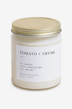 Brooklyn Candle Studio Minimalist Collection Tomato Thyme Candle