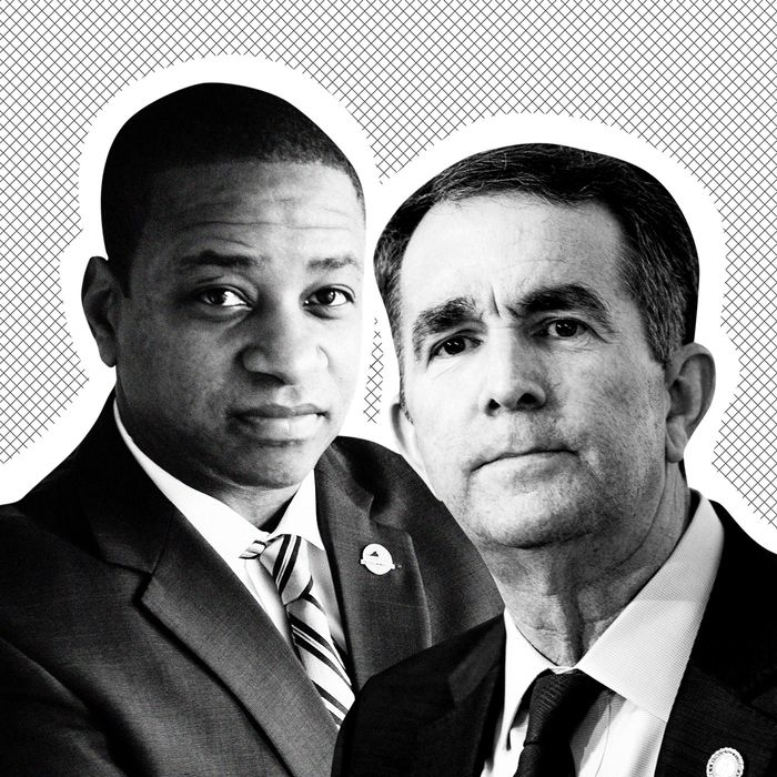 Governor Ralph Northam and Lieutenant Governor Justin Fairfax.