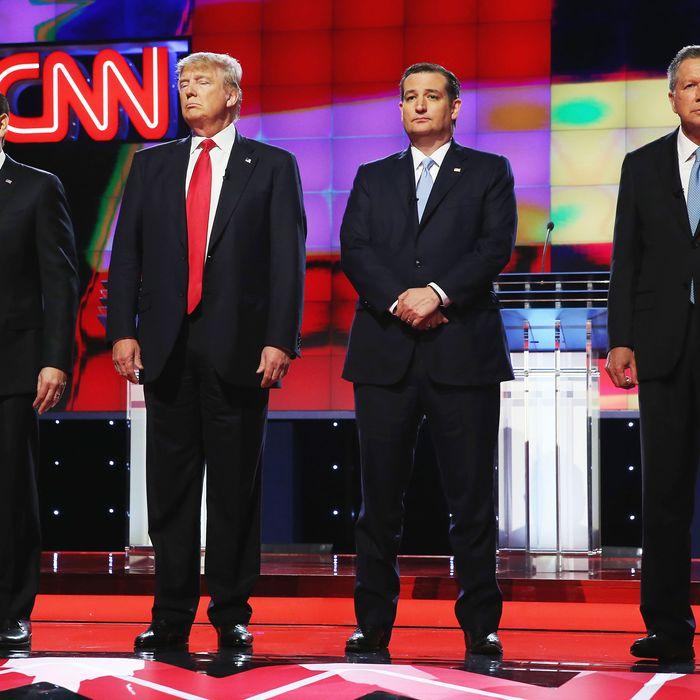 Republican Presidential Candidates Debate In Miami Area