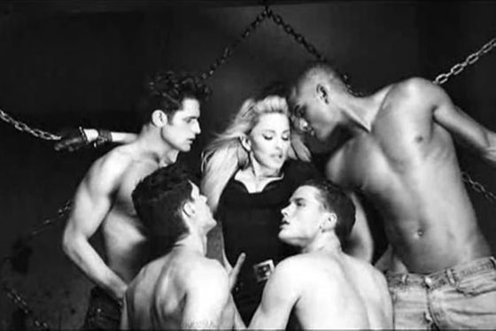 <b>What:</b> More foreplay.<b></b>  <b>Why:</b> Because Madonna can do whatever she wants. Case in point: this video.