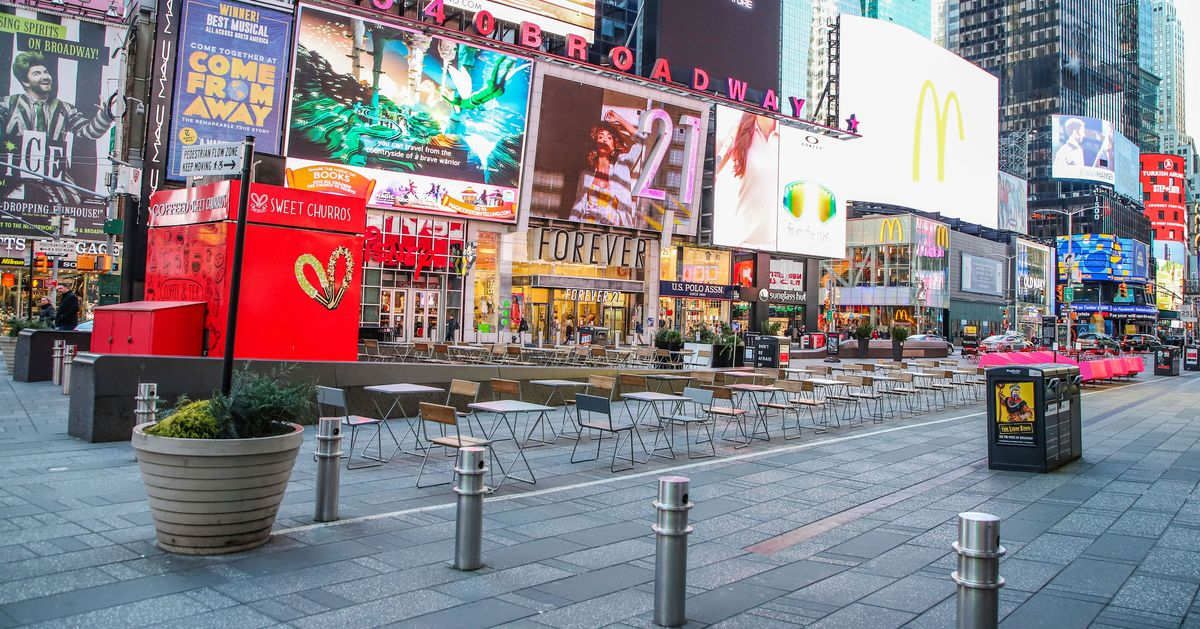 Photos: New York City's Most Crowded Places Are Empty
