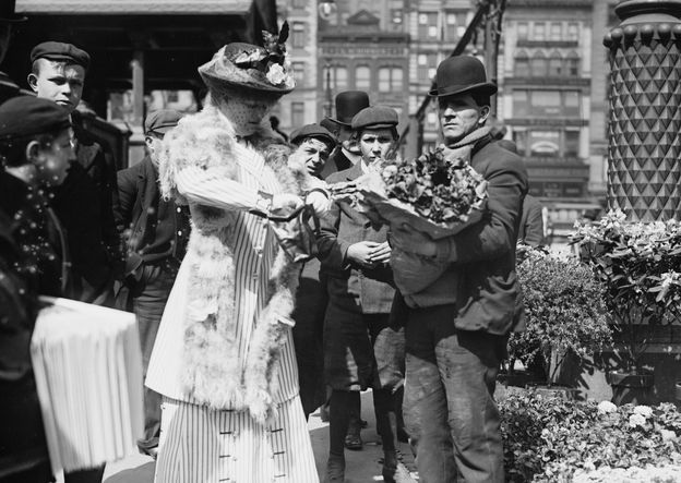 1900 easter the cut for Flowers union square nyc