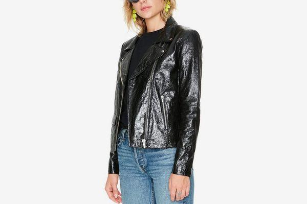 Lazer Glossy Leather Jacket
