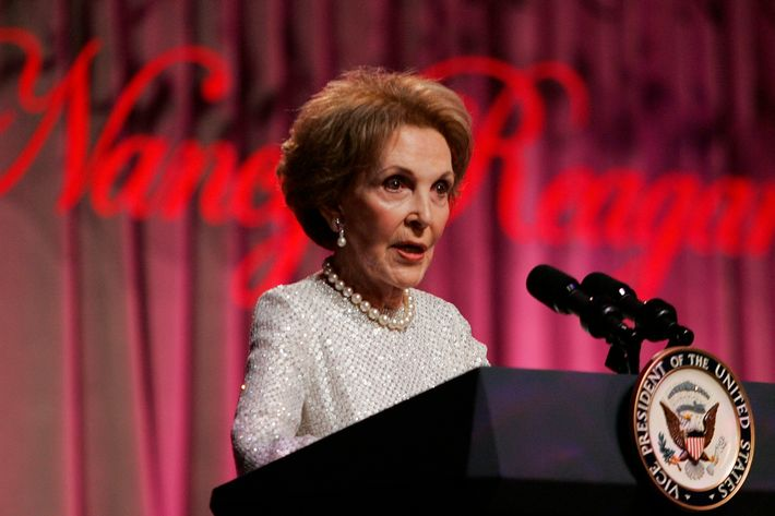 Nancy Reagan Honored By Reagan Foundation In Washington