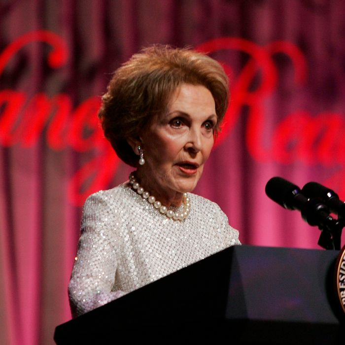 Nancy Reagan Honored By Reagan Foundation In Washington