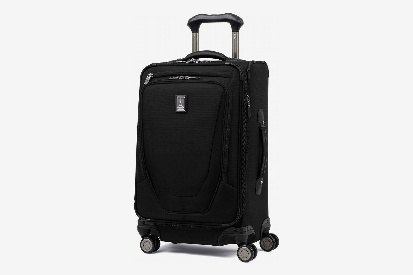 """Travelpro Luggage Crew 11 21"""" Carry-on Expandable Spinner with Suiter and USB Port"""