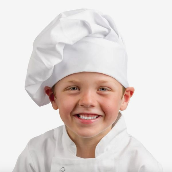 Whites Childrens Unisex Chef Hat White