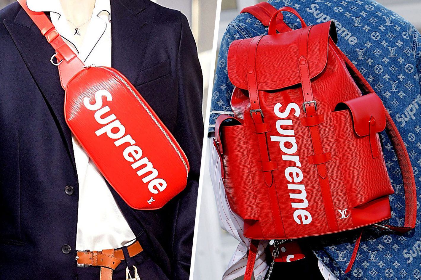 5287f250aec97 The Supreme and Louis Vuitton Collab Was a Brilliant Troll