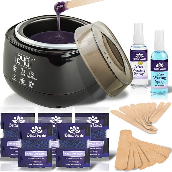 Bella Verde Waxing Kit
