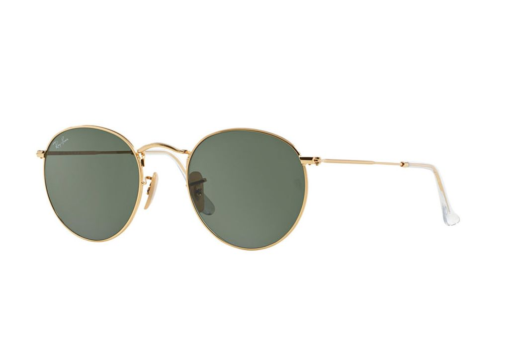 Ray-Ban Gold Green Classic Frames