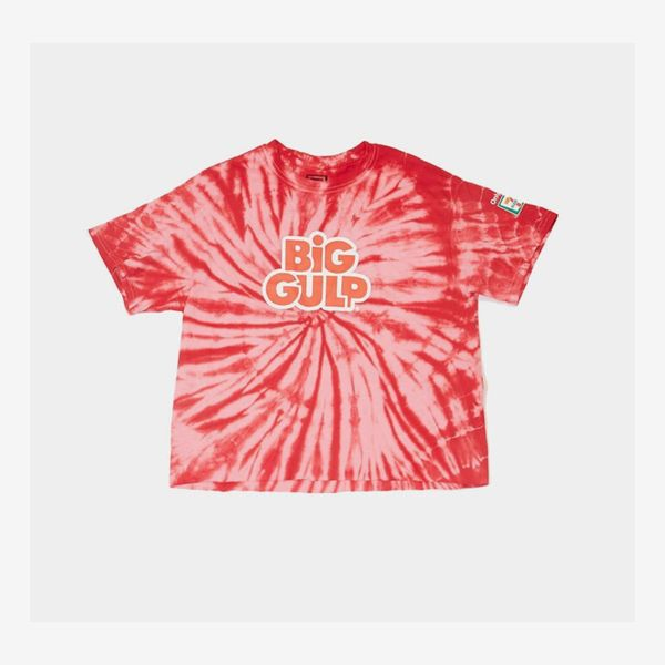 Forever 21 x 7/11 Tie-Dye Big Gulp Graphic Tee