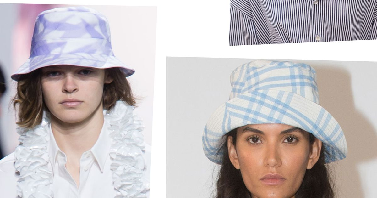 Bucket Hats Were All Over New York Fashion Week SS2018 26455b6502d0