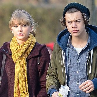 what day did harry and taylor start dating
