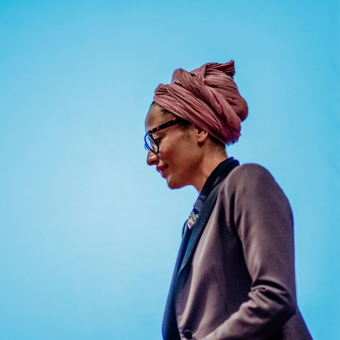 Author Zadie Smith