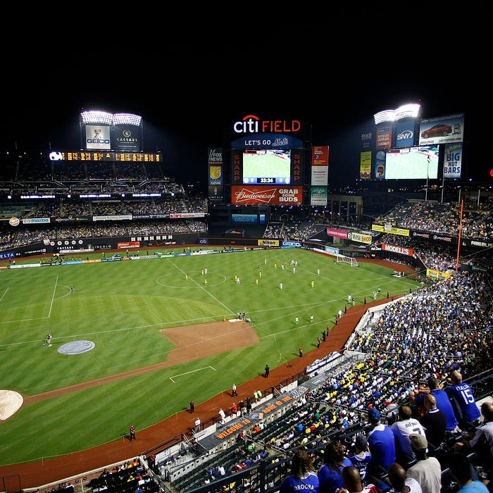 NEA general view of an exhibition match between Juventus FC and Club America on July 26, 2011 at Citi Field in the Flushing neighborhood of the Queens borough of New York City.