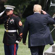 President And Mrs. Trump Depart White House For Bedminster, NJ